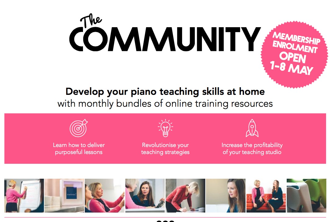 piano teaching from home