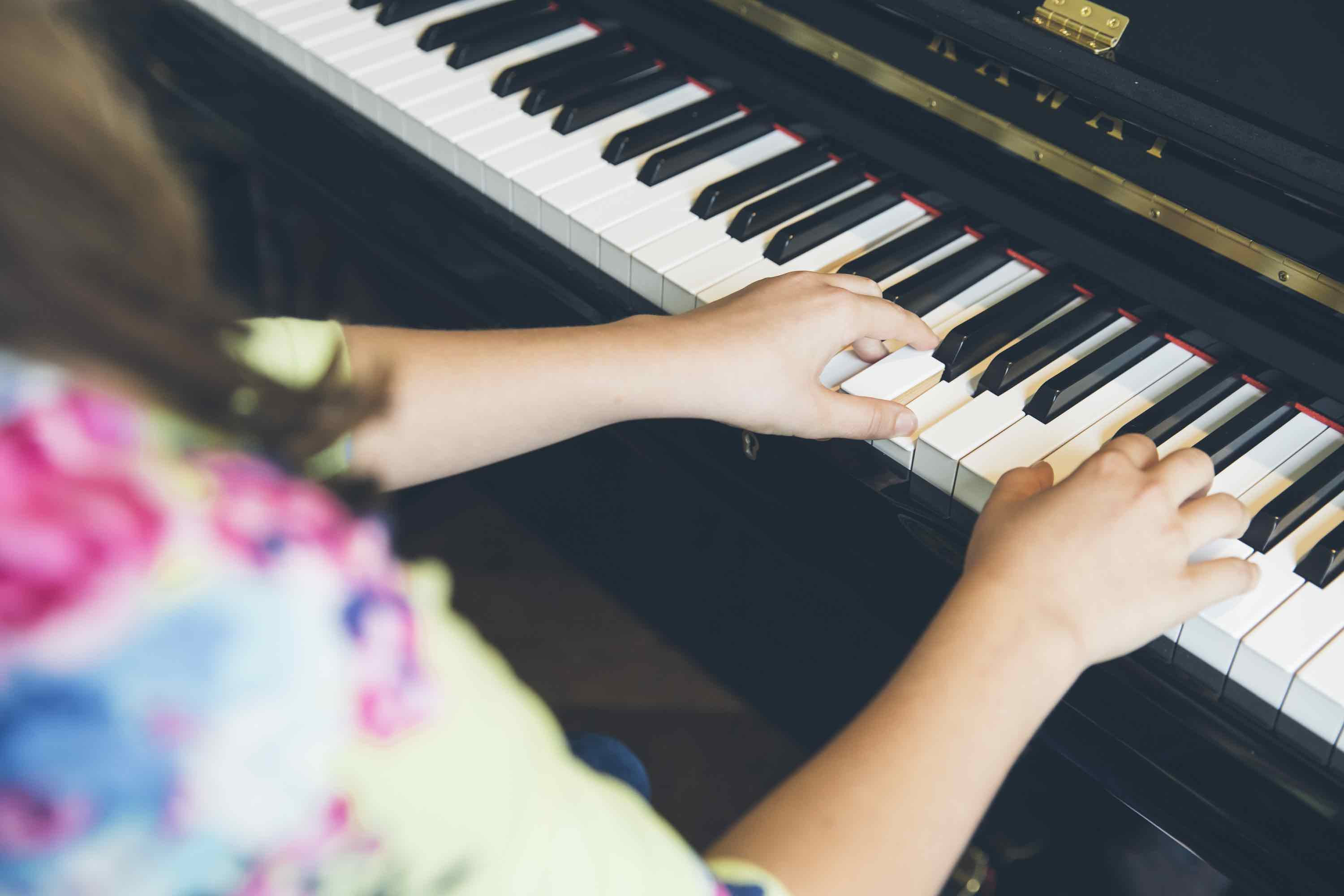 improvisation in piano lessons
